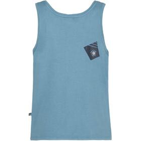 E9 Arv Mouwloos Shirt Heren turquoise